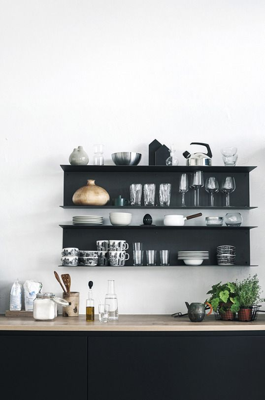How To: Transform Your Open Shelves - Peony & Silk