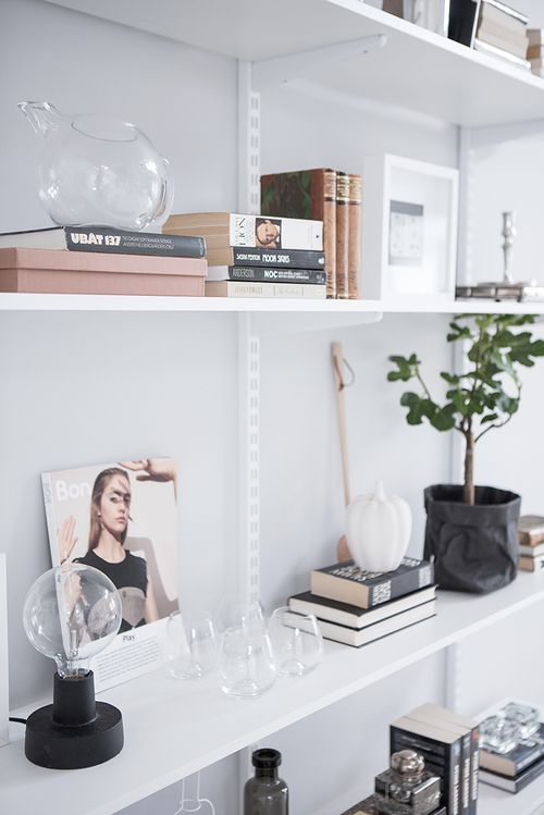 How To: Transform Your Open Shelves |